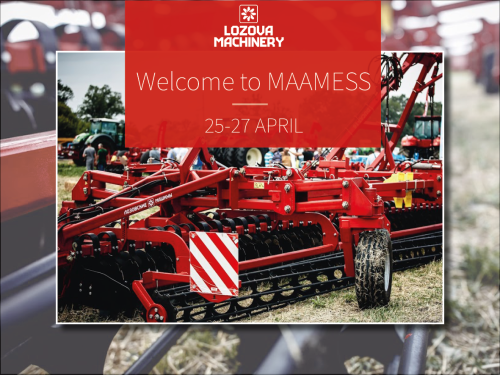LOZOVA MACHINERY примут участие в эстонской выставке «MAAMESS»
